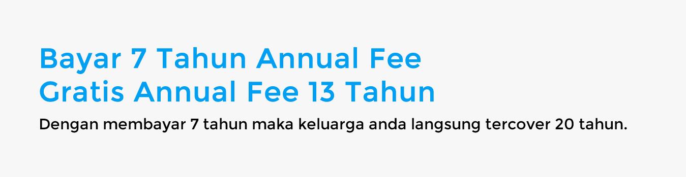 Slider Annual Fee